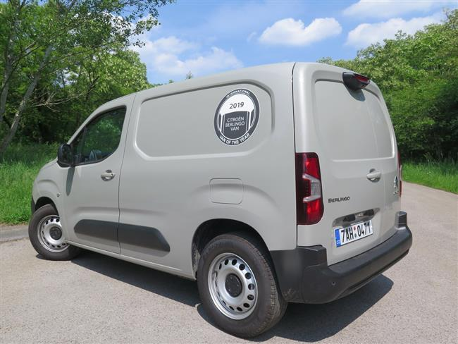 Citroen Berlingo Van Plus s motorem 1,5 HDI